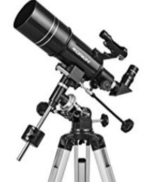 Orion Observer 80ST 80mm Equatorial Refractor Telescope