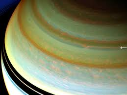 Saturn's surface