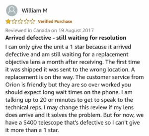 Orion AstroView 90mm review