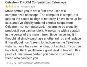 Celestron 31150 LCM 114