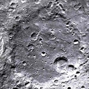 Bailly crater on the moon