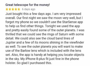 Celestron starsense explorer dx 130az Review