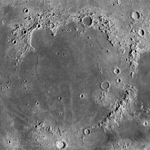 Mare Imbrium crater
