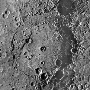 Rembrandt crater