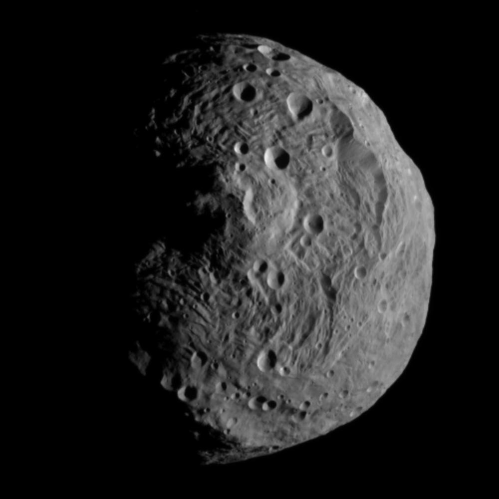 Rheasilvia crater