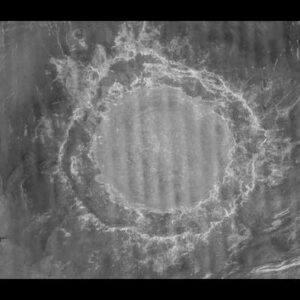Venus crater mead