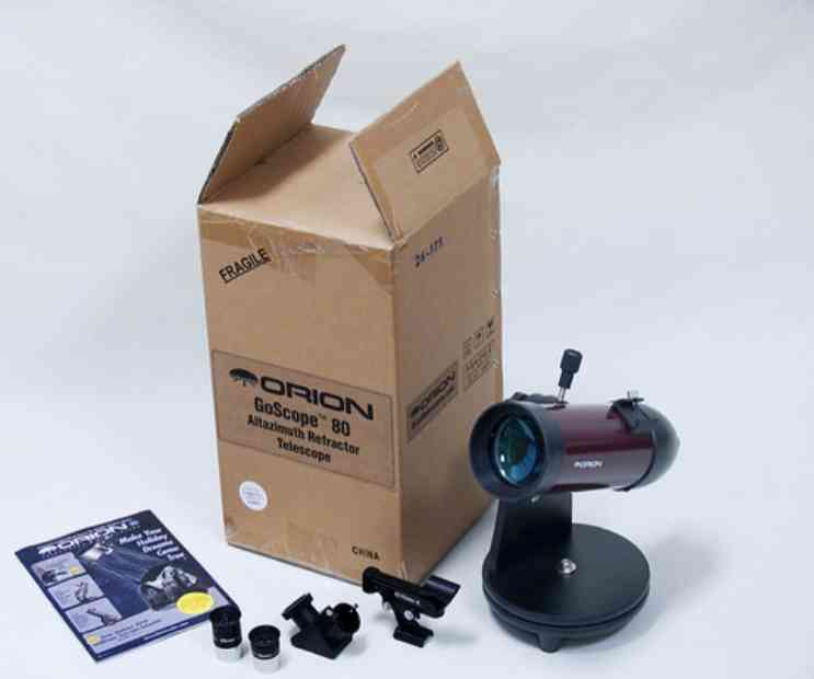 Orion goscope 80mm TableTop