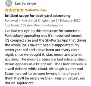 Celestron AstroFi 102 Review